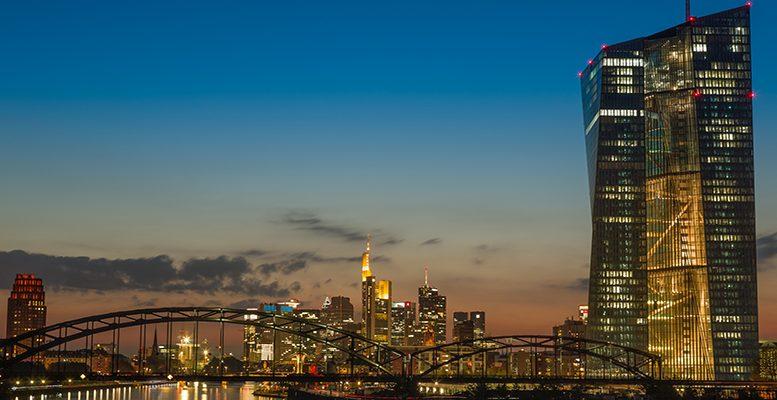 ECB at dusk