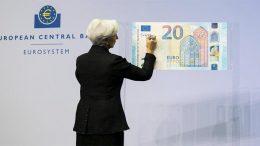 ECB Lagarde signing