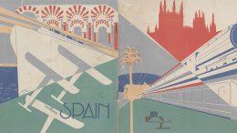 spain tourism vintage