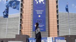 Eurozone with masks