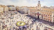 Puerta del Sol Square, Madrid, Spain