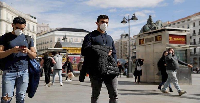 Madrid coronavirus spread