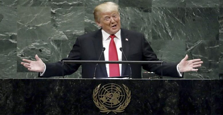 Donald Trump, United Nations