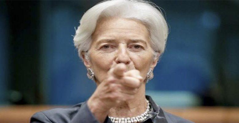 ECB's president Christine Lagarde