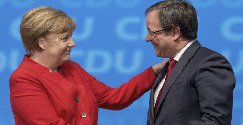 Merkel Laschet