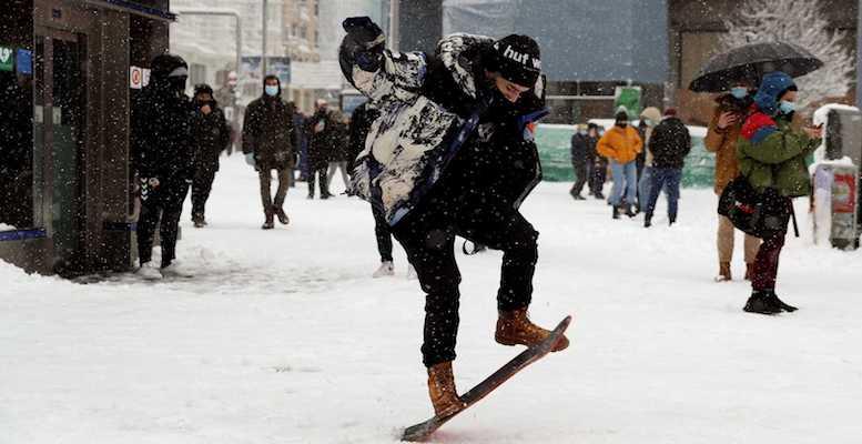 filomena snowboard