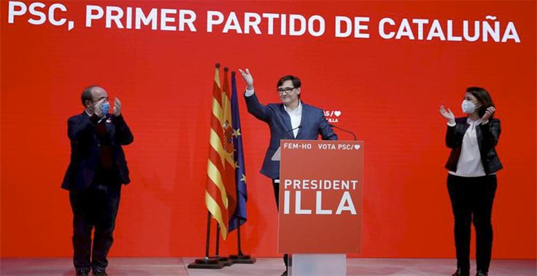 Catalonia PSC wins