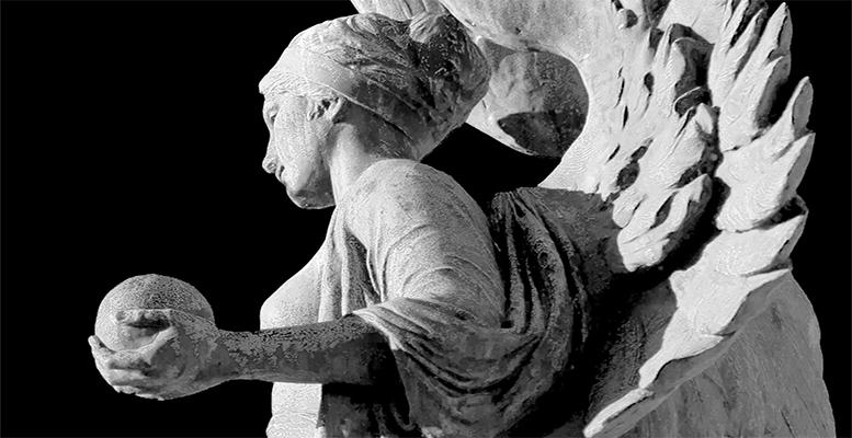 fallen angels sculpture