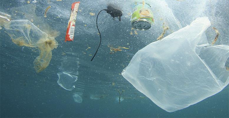 plastics to the ocean
