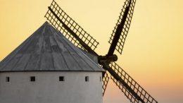 Spain, windmill