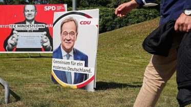 Today's German election is likely to be one of the most open contests in decades